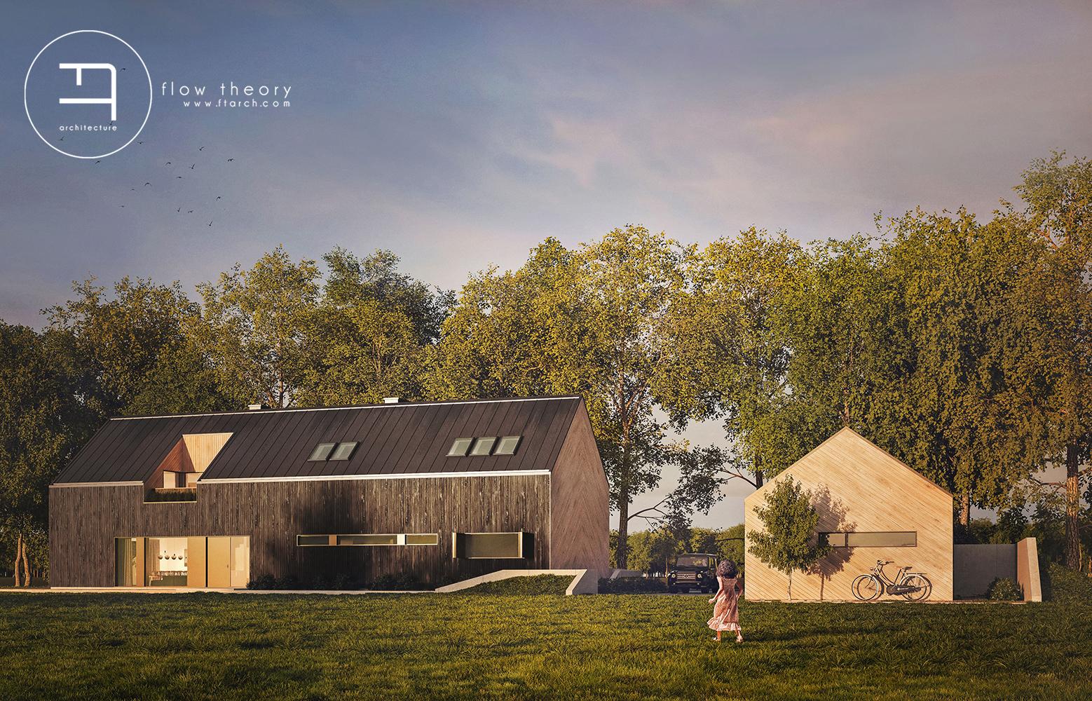 FT architecture ekologiczny budynek